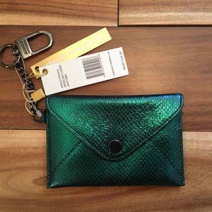 Aimee Kestenberg Card Holder Wallet Mermaid Green